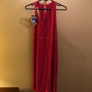 Cotton reversible sleeveless dress
